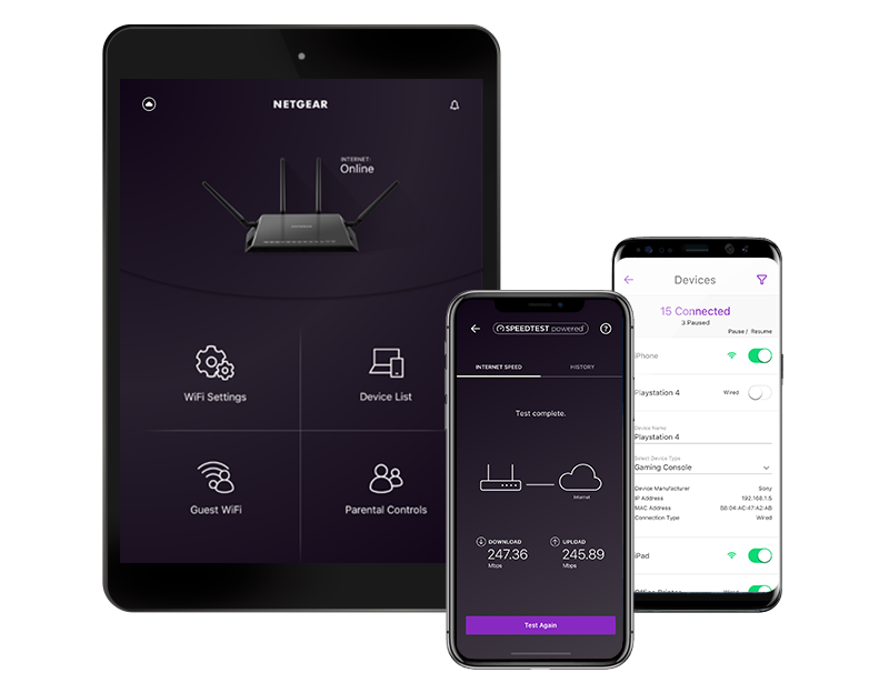 NETGEAR NIGHT HAWK APP- ROUTERLOGIN.NET