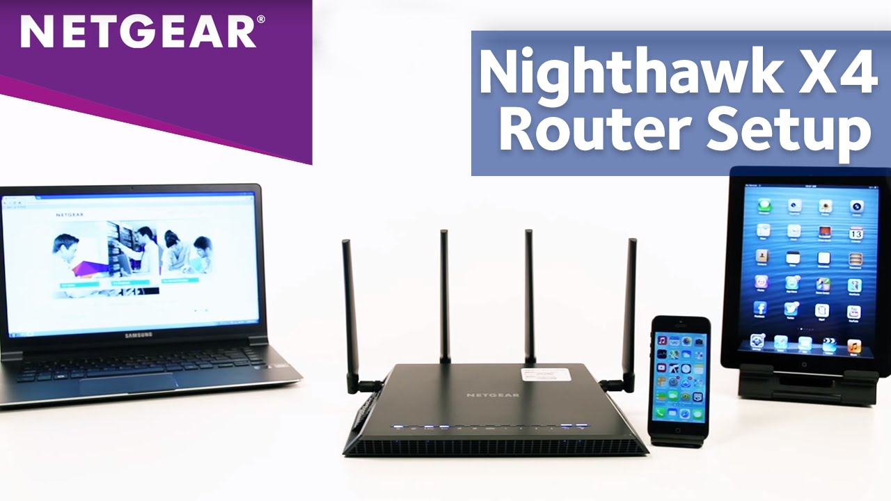 setup of the netgear nighthawk ac 2350 wi- fi router-www.routerlogin.net